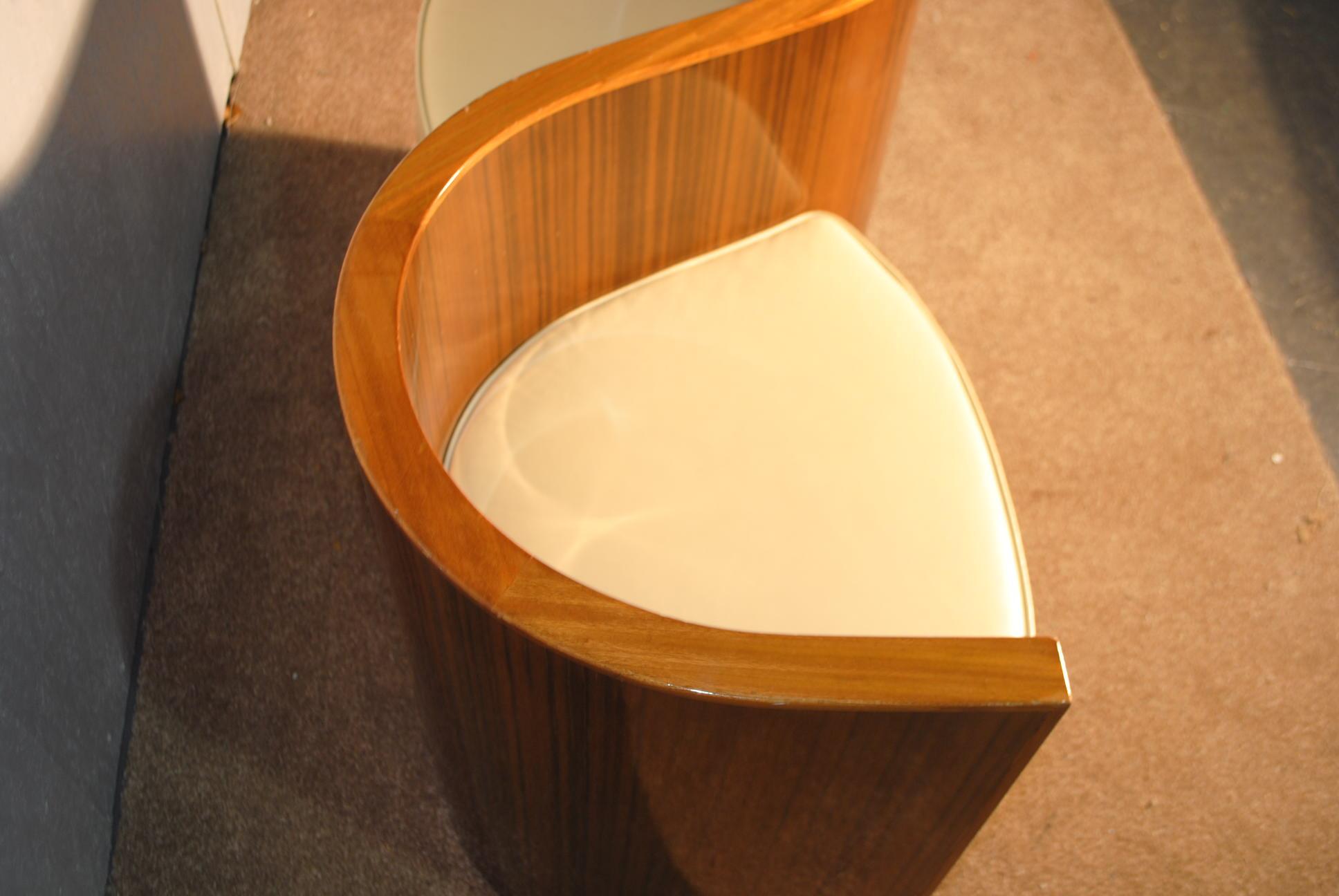 Art Deco Love Seat Cloud 9 Art Deco Furniture Sales