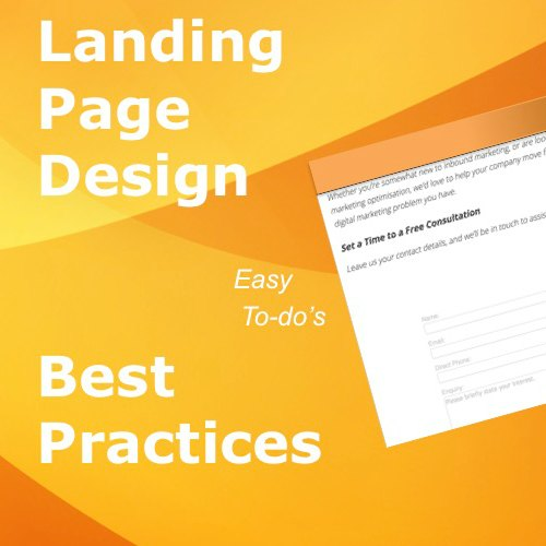 easy landing page design best practices by CloudAnalysts