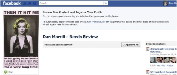 Facebook needs Review Feature