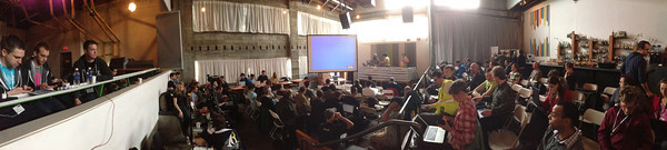 A wide angle view of Holocene where Node PDX magic happened!