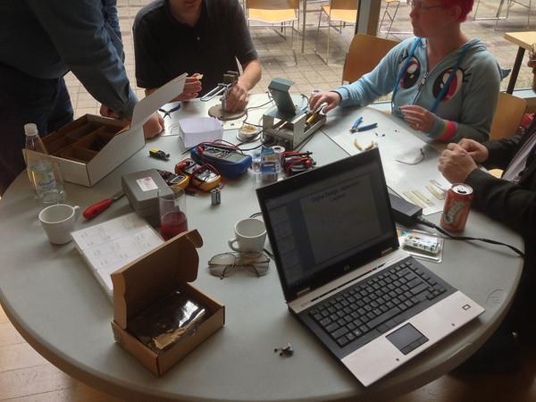 Hardware hacking, a little soldering brings together different worlds.