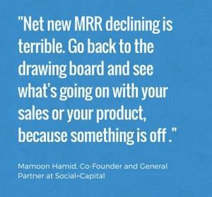 Net New MRR declining