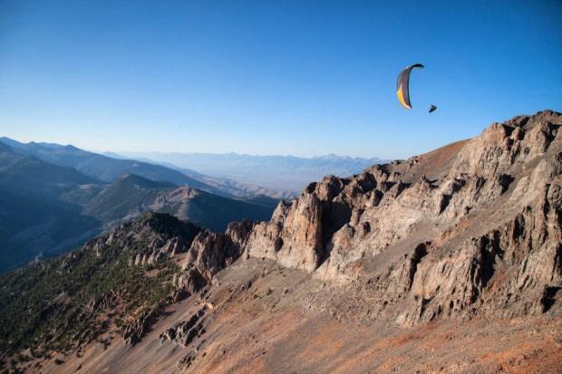 Glass off near King Mountain, Big Lost Range.  Photo Jody MacDonald  (not taken the day of the flight)