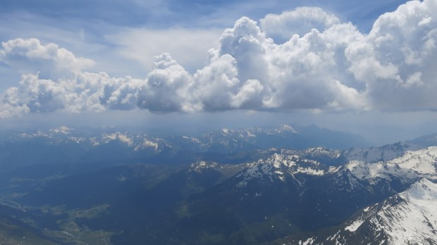 Looking towards the Dolomites, starting to go ballistic