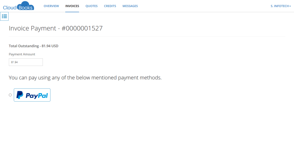 2 - gonna pay invoice