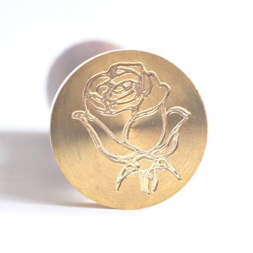 laksegl med rose
