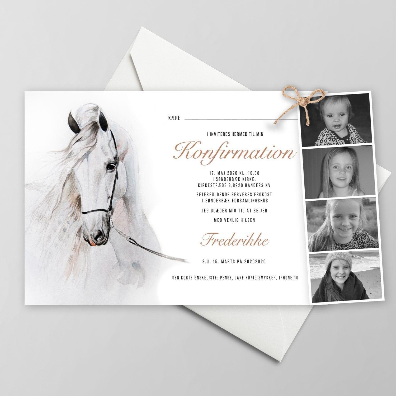 Watercolor Horse invitation