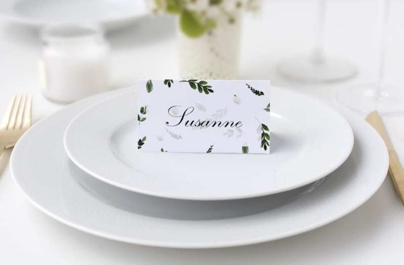 bordkort bryllup