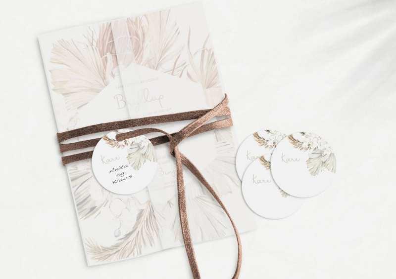 Botanical Rhapsody, manillamærke, bryllup