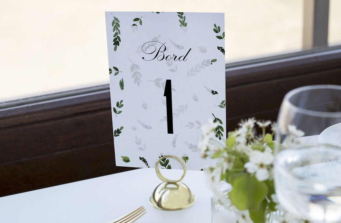bordnummer, fallen grace, fest, pynt opdækning, bordopdækning