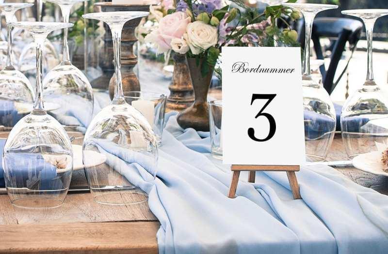 bordnummer, kaligrafitti, fest, pynt opdækning, bordopdækning