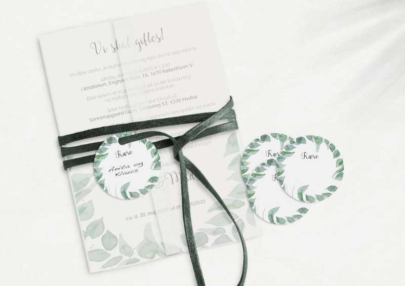 Leaf Me, manillamærke, bryllup