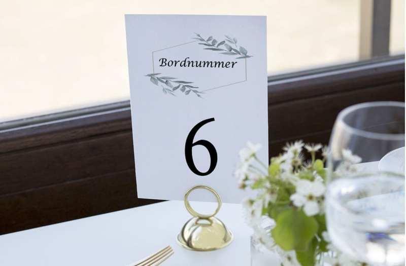 bordnummer, simple branch, fest, pynt opdækning, bordopdækning