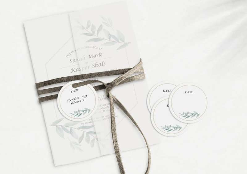 Simple Branch, manillamærke, bryllup