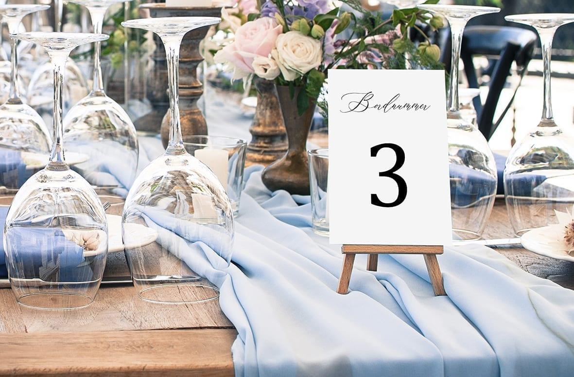 bordnummer, simple kali, fest, pynt opdækning, bordopdækning