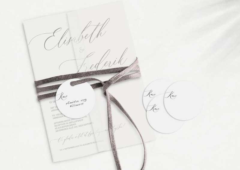 Simple Kali, manillamærke, bryllup