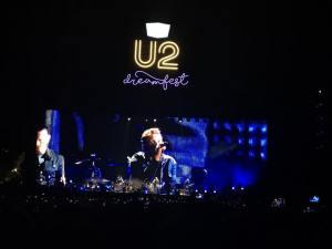 U2 at Dreamfest 16
