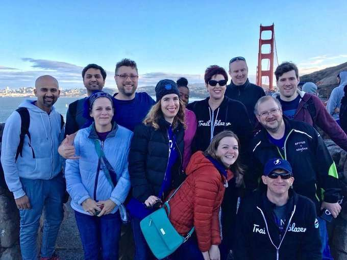 Golden Gate Bridge Walk Dreamforce