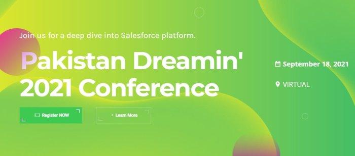 Pakistan Dreamin Website Screenshot