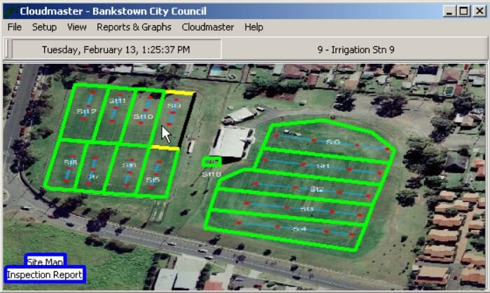 Bankstown City Council Cloudmaster site map