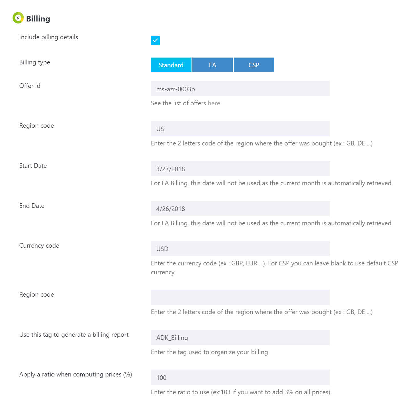Cloudockit Now Featuring Billing Information