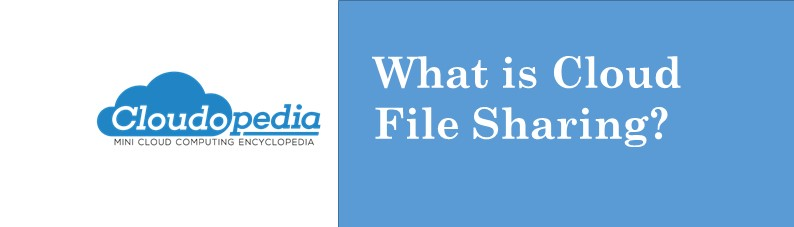 Definition of cloud file sharing