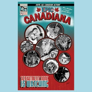 Epic Canadiana Volume 2 cover