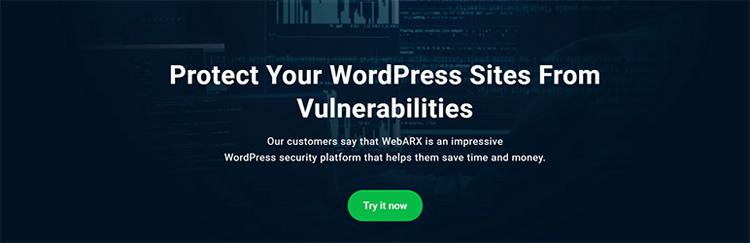 webarx security wordpress plugin