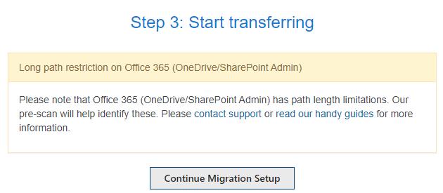 Homelaufwerke zu OneDrive for Business migrieren - Migrationssetuo