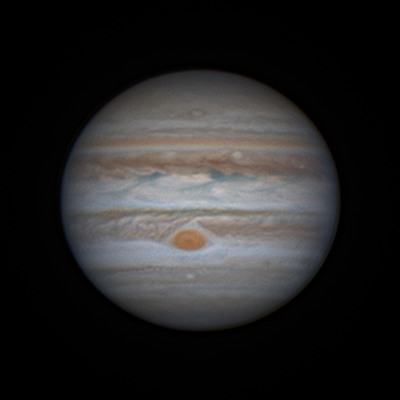 Jupiter + great red spot very good seeing - Solar System ...