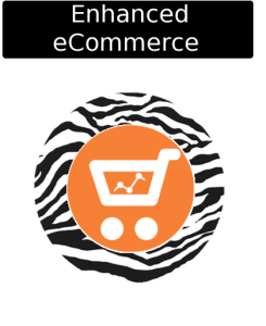 cloudy zebra enhanced ecommerce set up icon