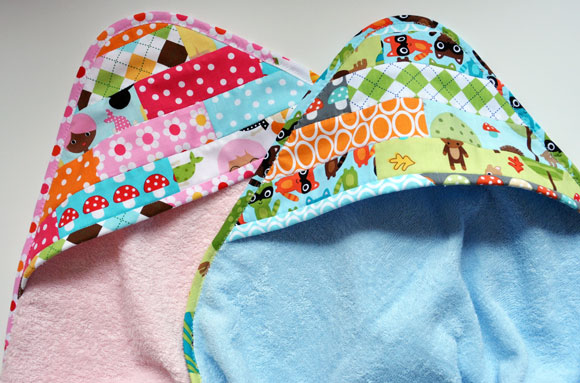 Our Scrappy Happy Hooded Towels {Quilts and More magazine ...