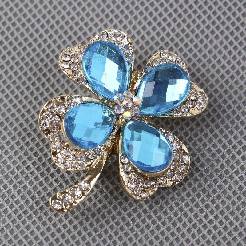 Personality Clover Brooch Jewelry For Women/men Fashion Jewelry Brooch Pins CLOVER JEWELLERY