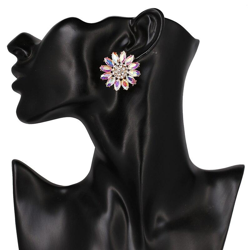 Big Sunflower Earrings 3 Colors Trendy Cute Earrings CLOVER JEWELLERY