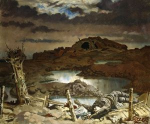 Zonnebeke, by William Orpen