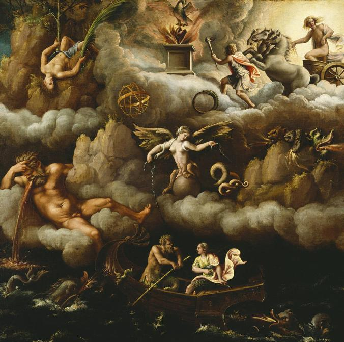 An Allegory of Immortality, by Giulio Romano