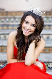 Contributed  Miss Clovis 2015, Taylor Coloka, is pursuing an elementary teaching credential at Fresno State.