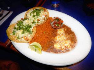 Rico Carne Asada Taco plate. [Photo by Ron Sundquist]