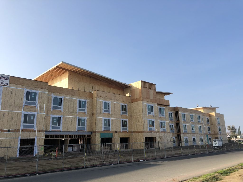Marriottu0027s TownePlace Suites On Shaw And Helm Avenues Is One Of The Many  Hotels Being Constructed In Clovis. (Daniel Leon/Clovis Roundup)