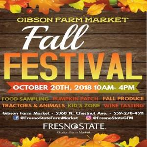 Gibson Farm Market's Fall Festival @ Fresno State's Gibson Farm Market | Fresno | California | United States
