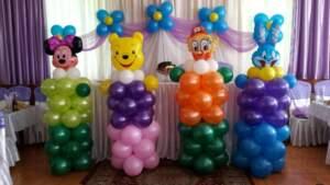 фигуры из шаров на детский праздник