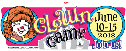 Clown Camp 2018 will be held June 10-15 in LaCrosse Wisconsin