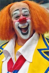 Pat Cashin, Clown