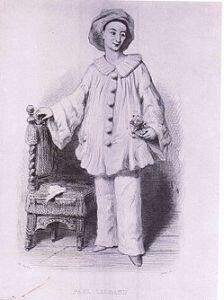 Pedrolino- one of the zanni of the commedia dell'arte