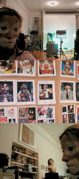 Cindy Sherman's Studio