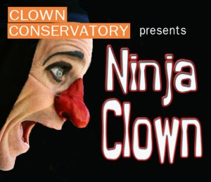 Ninja Clown at the Clown Conservatory in San Francisco Nov 15-18