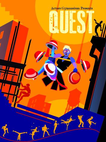 Circus Shows- Quest- Actor's Gymnasium- Clownlink.com