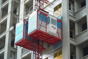 What is a passenger hoist