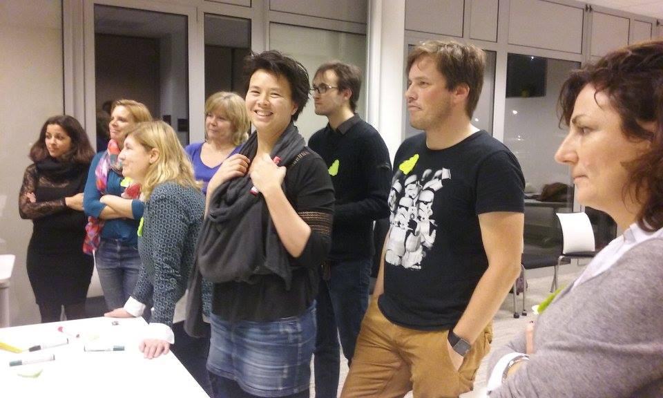Retour enthousiaste de Sandrine, fan du club, sur les mardi Meetup !