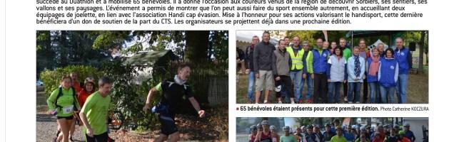 Le Run & Bike de Sorbiers dans la presse